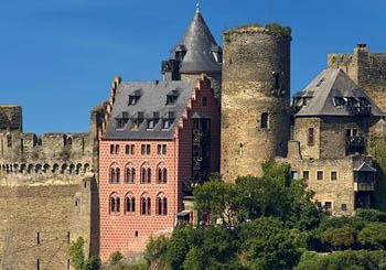 Burghotel auf Schönburg, Germany--Rhine legends and  perfect castle accommodations.
