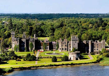 Ashford Castle, Ireland--can a 14th-century castle be a world-class resort? Yes!