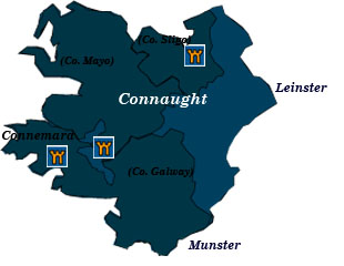 connaught map
