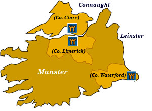 munster map