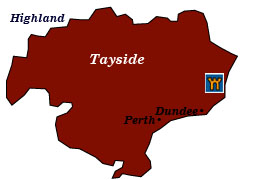 scotland tayside map
